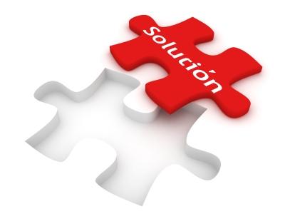 Trabaja con la solución no con elproblema